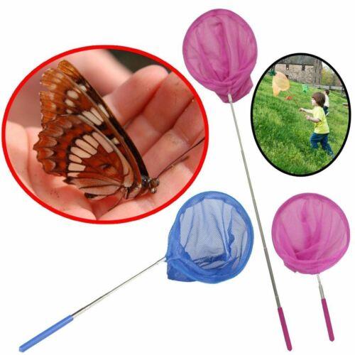 x 1 Children 4 Colour Kids Net Telescopic Bug Butterfly Catcher Sea Fishing Mesh