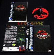 THE LOST WORLD JURASSIC PARK Sega Saturn Versione Italiana ••••• COMPLETO