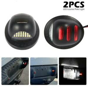 2pcs-voiture-LED-plaque-immatriculation-lumiere-rouge-neon-Ford-F150-2001-2014