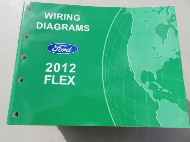2012 Ford Flex Electrical Wiring Diagrams Factory Oem Shop