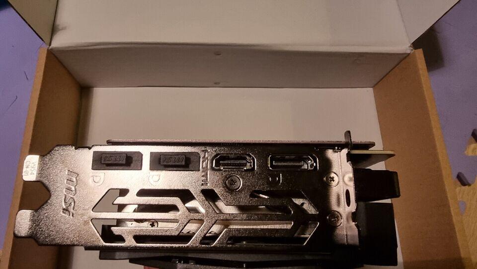 RTX 2060 MSI, 6 GB RAM, Perfekt