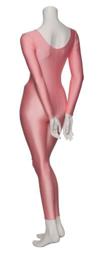 All Colours Lycra Long Sleeve Footless Catsuit Unitard All Sizes KDC017 By Katz