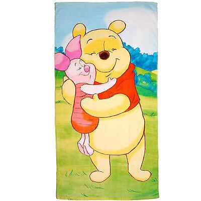 70 x 140 cm Serviette de Plage Motif /à Motif pour Enfants Serviette Winnie The Pooh Smile 100/% Coton
