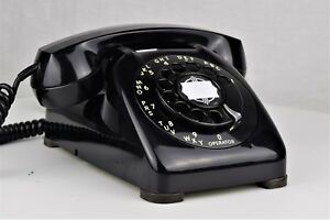 Restored-amp-Working-Vintage-Antique-Telephone-Automatic-Electric-Type-80