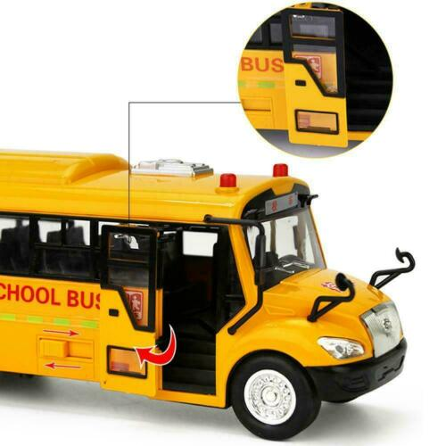 School Bus Models Toy Cars Alloy Light and Sound BRAND NEW R3S3