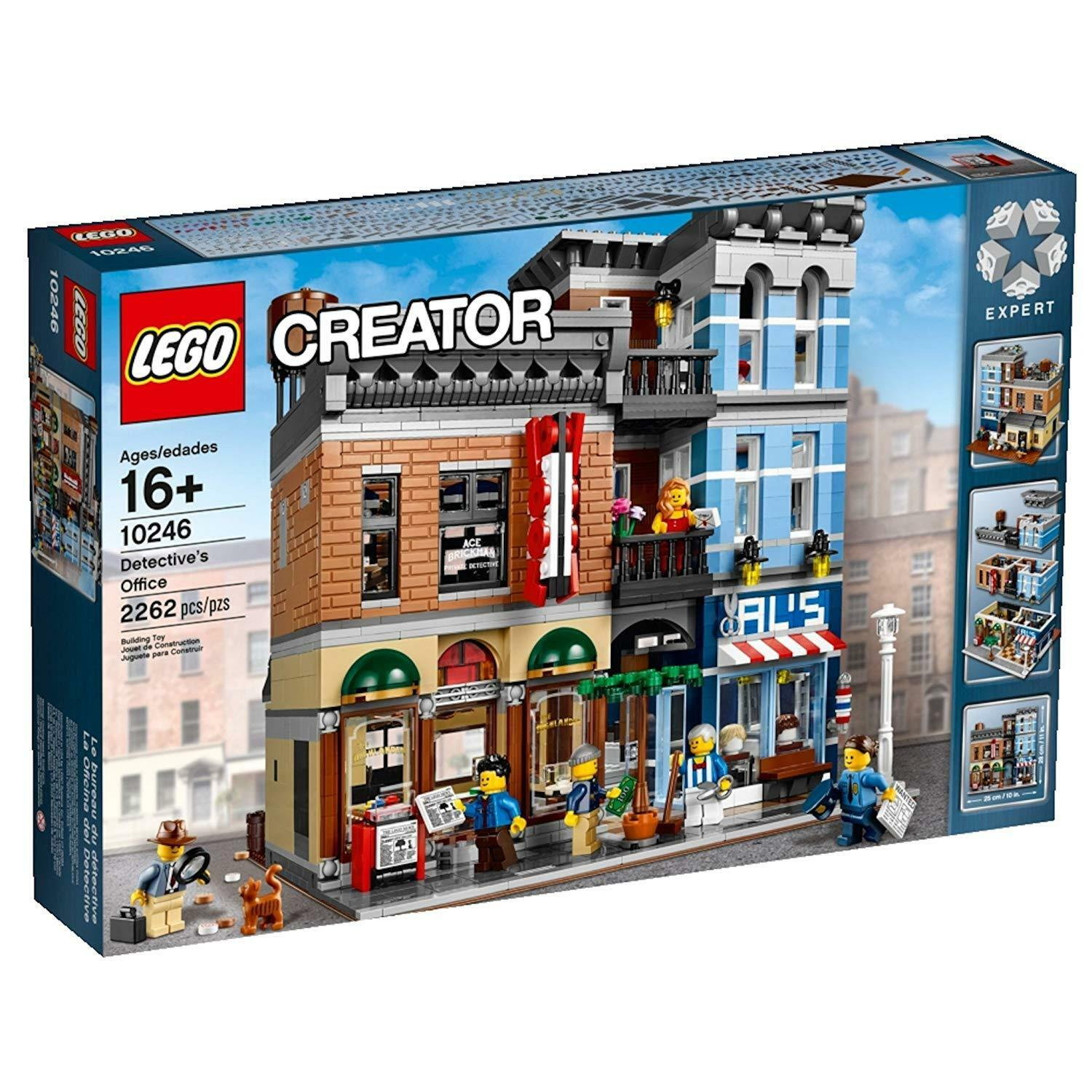 LEGO Creator Expert (10246) Detective's Office (Brand New & Factory Sealed)
