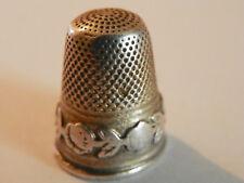 dé a coudre ancien en argent/ antique silver thimble/altes Fingerhut Silber