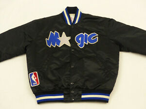 ORLANDO-MAGIC-STARTER-RETRO-BOMBER-JACKE-NBA-BASKETBALL-SCHWARZ-GR-M-TIP-TOP