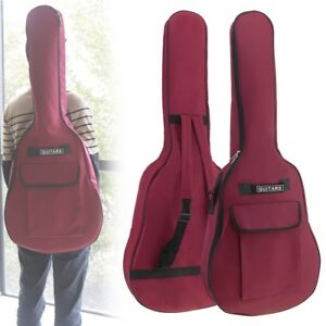 40-41-Inch-Oxford-Fabric-Guitar-Case-Gig-Bag-Double-Straps-Padded-5mm-Waterproof