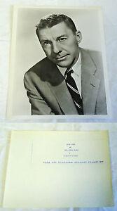 1959-Presser-Photo-David-Wayne-Fraise-Blond-A-Rexall-Special-TV