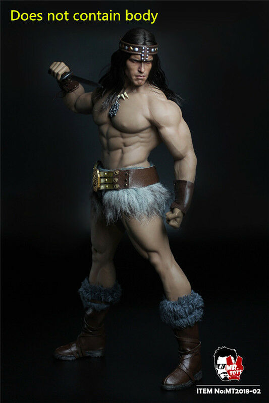 Mr. Juguetes soldado Conan MT2018-02 1 6 cabeza Talla Disfraz De Grupo ano edición Regalos