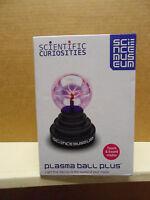 Usb Plasma Ball Plus Sphere Lightning Desktop Light By Scientific Curiosities