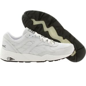 3a225712f8c5 Image is loading 99-99-Puma-Men-R698-Trinomic-Crackle-white-