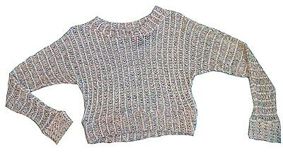 New Girls Dress Belt Knitted Pleated Tunic Casual Formal Red Grey Pink 2-12y #26
