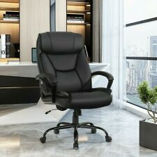 Big Amp Tall 500lbs Massage Office Chair Executive Pu Leather Computer Desk Chair