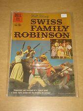 FOUR COLOR #1156 FN- (5.5) DELL COMICS SWISS FAMILY ROBINSON DECEMBER 1960 CVR B