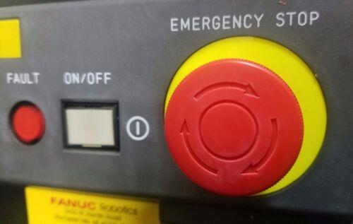 Fanuc CRM51 Emergency E-Stop Button for  RJ3 RJ3iA /& RJ3iB Controller