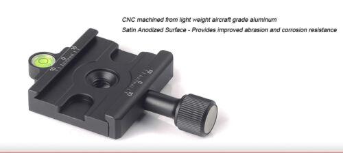 Sunwayfoto DDC-60L 60mm Adapter Long Handled Clamp Arca Compatible Tripod Head