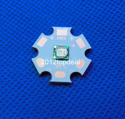 5W 5050 Ultra Violet UV 415-420nm High Power Led Emitter with 20mm copper star