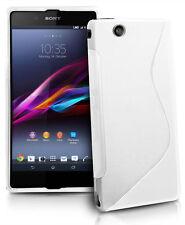 Funda Gel TPU S-LINE Blanca Sony XPERIA Z ULTRA C6802 XL39h