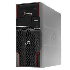 Fujitsu CELSIUS W520 PC Xeon E3-1270v2 Core i7 SSD 240GB Ram 16GB Quadro 600 W10