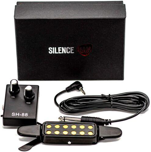 Silenceban 12-hole Magnetic Soundhole Acoustic Transducer Guitar Pickup