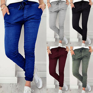 Women-039-s-Stretchy-Slim-Skinny-High-Waist-Denim-Jeggings-Pants-Trousers-Leggings