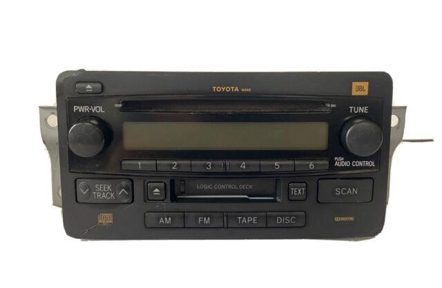 2004 2005 2006 Toyota Sequoia Tundra Jbl Cassette Cd Radio