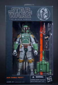 STAR WARS The Black Series Boba Fett The Force Awakens Action Figure AAA