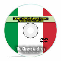 Learn How To Speak Italian, Fast Foreign Language Training Course, Dvd E02
