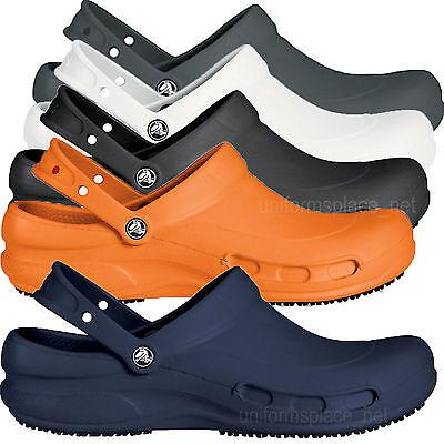 Crocs Bistro Unisex Clogs Work Shoes