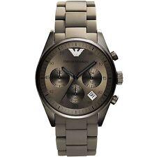 ** NEW **Emporio Armani® watch AR5950 , Black Ion , mens CHRONOGRAPH