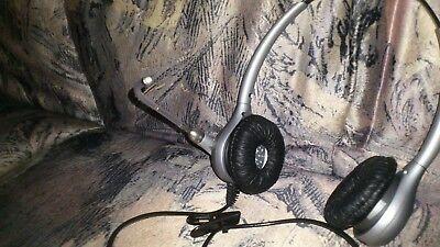 Plantronics Supraplus Silver Binaural Headset hw361n/a Headsets & Zubehör Bürotechnik