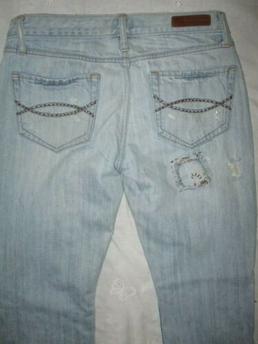 Womens Abercrombie Fitch ViNtAgE Jeans tight Embro