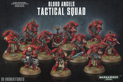 Blood Angels Tactical Squad Space Marines Arme Bolter I Warhammer 40K Bitz 2645