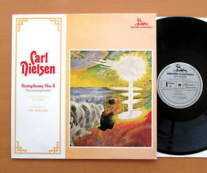 Details about KPM 7004 Carl Nielsen Symphony no  4 Ole Schmidt LSO 1974  Unicorn Stereo NM/EX