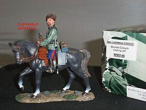 Roi et pays Wss146 Cosaques de l'armée allemande à la recherche d'un soldat de jouet monté à gauche