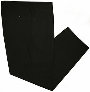 PREOWNED-MINT-BLACK-GIORGIO-ARMANI-COLLEZIONI-2-PLEAT-MENS-DRESS-PANTS-36-37