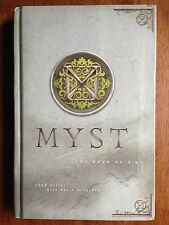 MYST The Book Of D'Ni Dni 1st HC 1997 Rand Miller David Wingrove L@@K WOW!!!