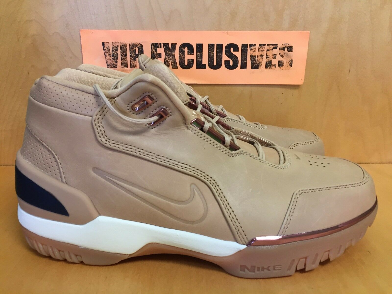 Nike air zoom generazione come qs vachetta tan lebron all star 308214-200 limited