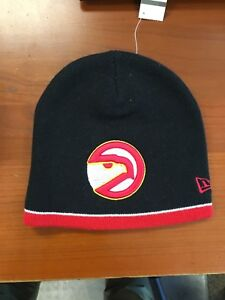 timeless design 8b38e 6d99c Image is loading NWT-NEW-ERA-NBA-ATLANTA-HAWKS-BEANIE-WINTER-