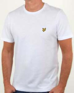 Lyle-and-Scott-T-shirt-in-White-short-sleeve-crew-neck-cotton-tee