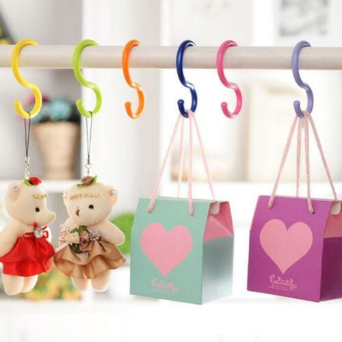 Convenient S-Shaped Hook Colorful Hook For Clothing Can Hanging Multi-Purpose LI