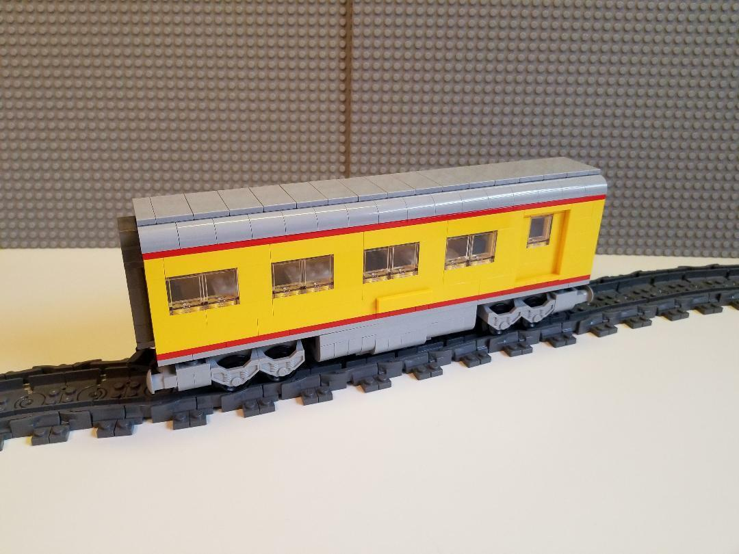 Lego Train Union Pacific Dinner Car -- PLEASE READ ITEM DESCRIPTION --