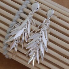 925 STUNNING SILVER MOURNFUL ICE MAIDEN FROZEN DROP EARRINGS COLD VALENTINE GIFT