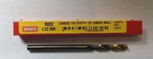 Dormer-R002-4-2MM-Solid-Carbide-TiN-Straight-Shank-Jobber-Drill