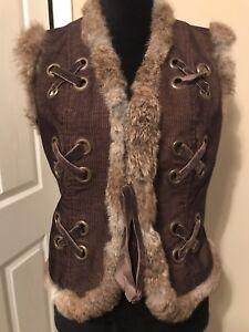 Atelier-Vest-Coat-Medium-Brown-Tan-Faux-Fur