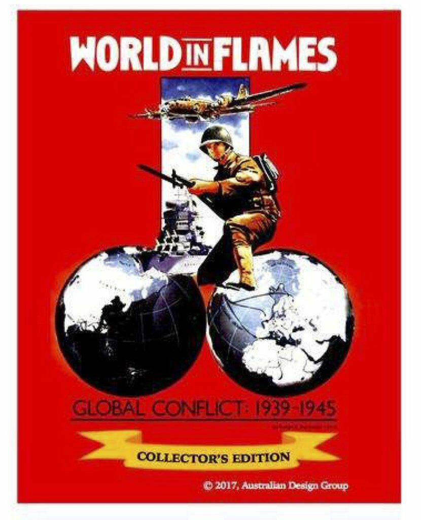World in Flames Classic Collector's Edition, New by Australian Design Group, Eng