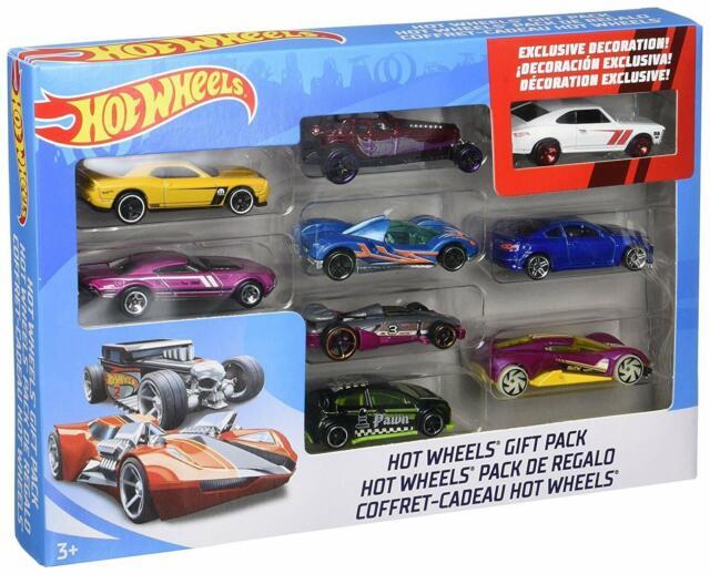 Mattel Hot Wheels 9 Car Cars Gift Pack Styles May Vary