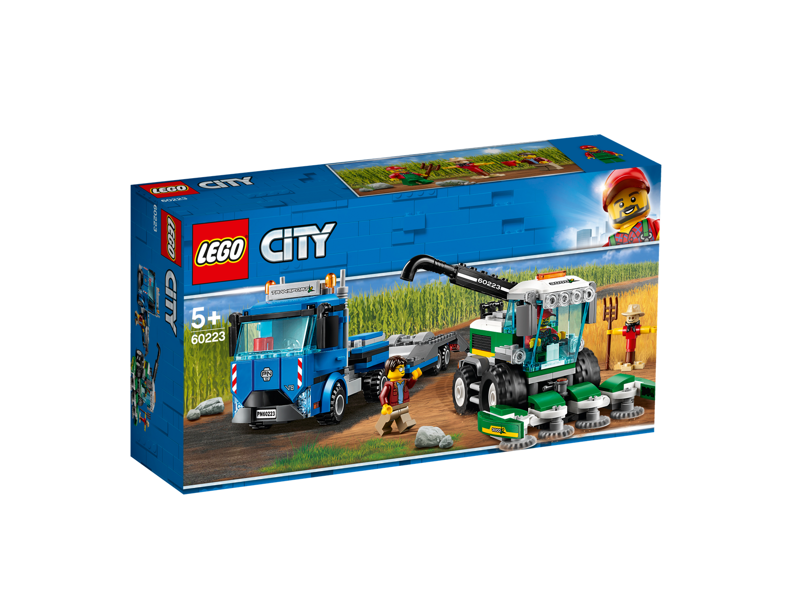LEGO® City 60223 Transporter für Mähdrescher NEU OVP_ Harvester Transport NEW